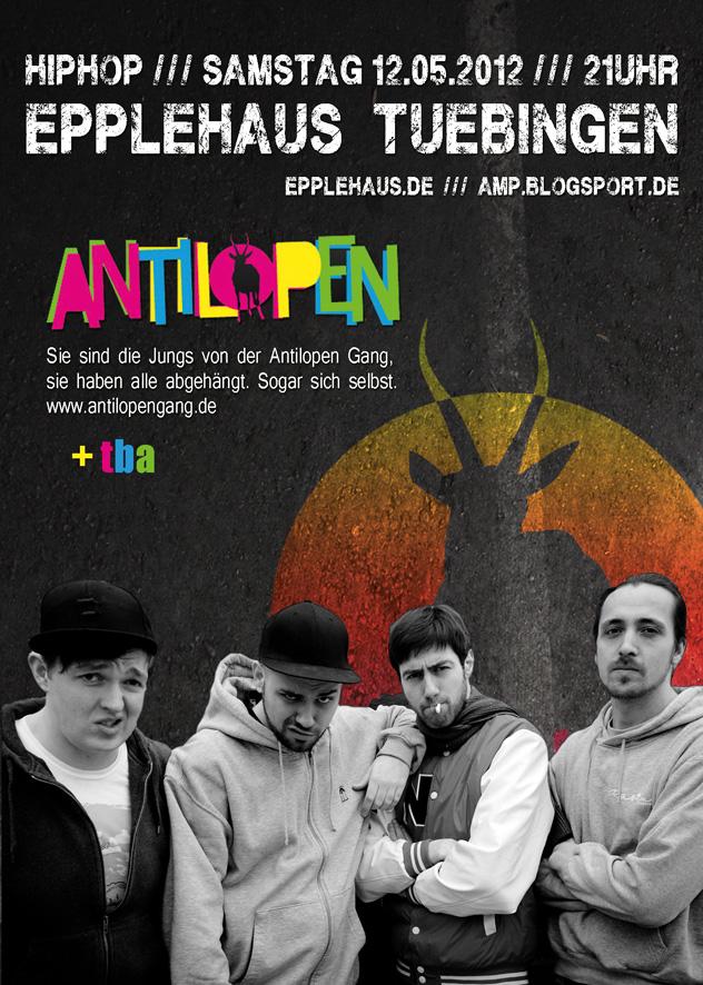 Antilopen Gang Flyer