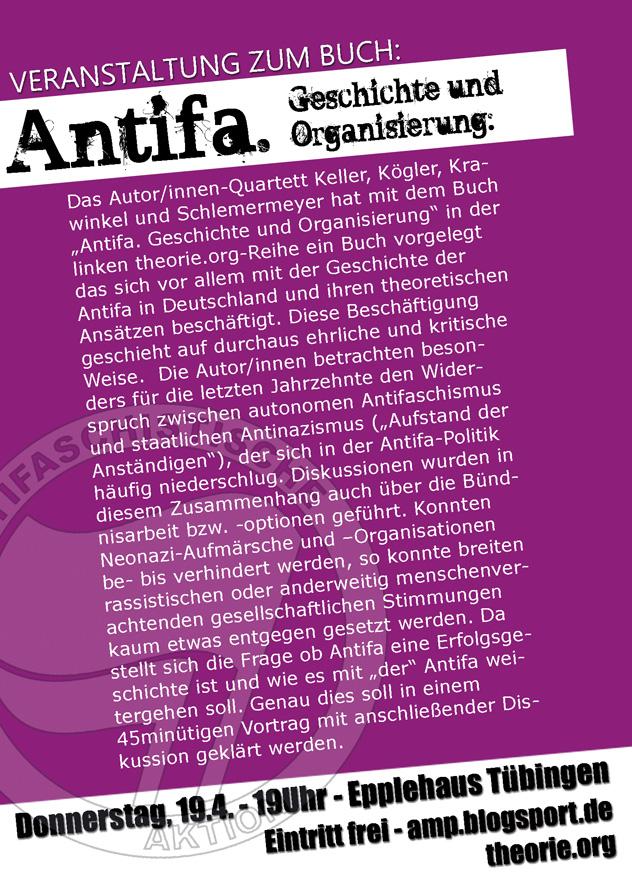 """Vortrag zum Buch \""""Antifa\"""""""