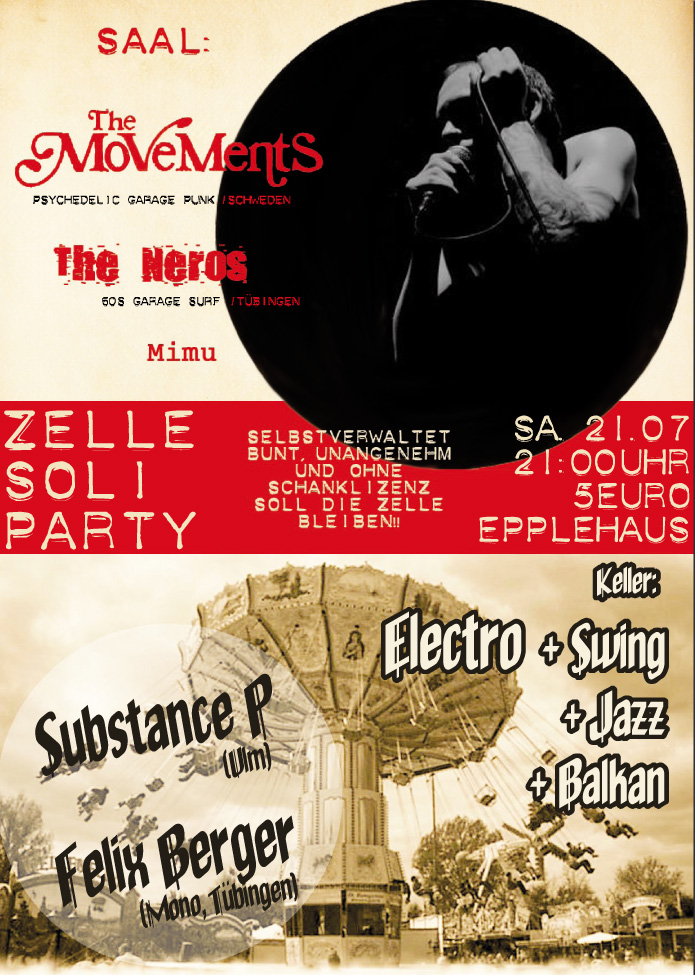 Zelle Soli 21.07.12 Flyer
